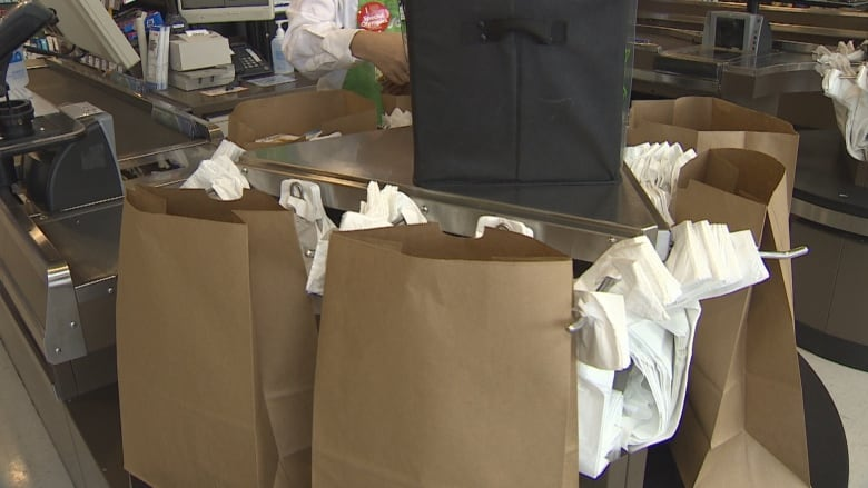 Fees for reusable, paper bags won't go up on P.E.I. in new year