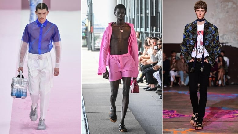 Mens Summer Fashion 2020.See Through Everything Pink For Miles Top Trends From All