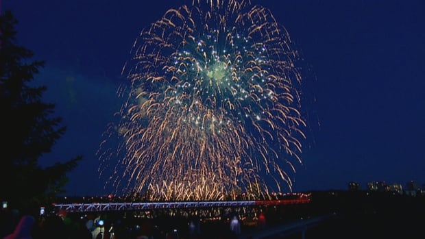 Edmonton to host Canada Day fireworks, St. Albert cancels display
