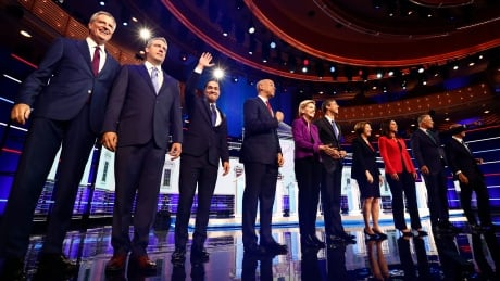 First of 2 back-to-back U.S. Democratic debates underway