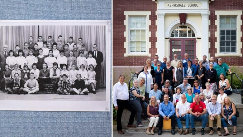 Unearthing buried treasure: time capsule sends classmates 50 years into the past