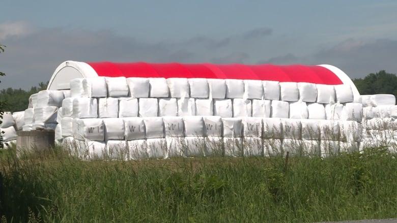 Recycling program targets Alberta farmers' grain bags