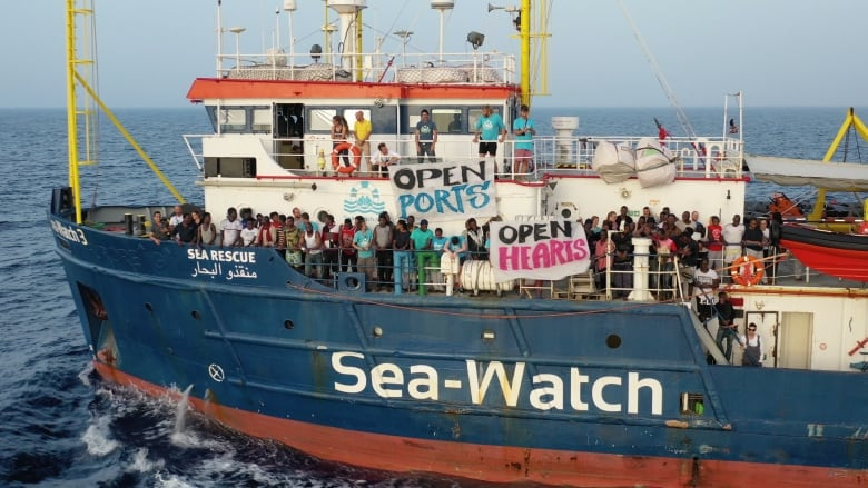 German migrant rescue ship captain moved to secret location after threats