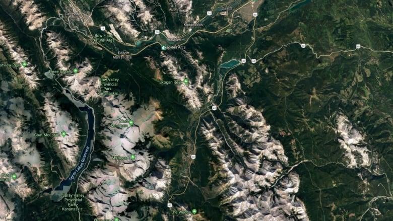 Female climber dies at Spray Lakes on Saay | CBC News on