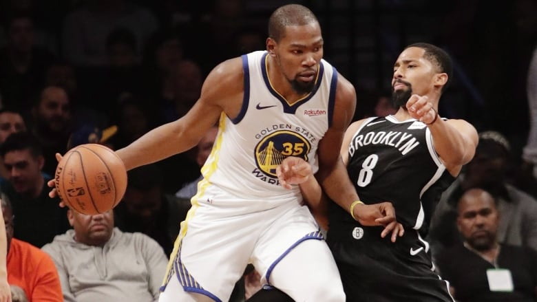 the latest bcf4d 05502 Two-time Finals MVP Kevin Durant announces he's signing with ...