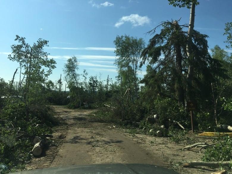 tornadoes hit Saskatchewan