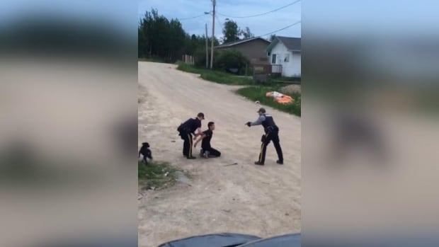 RCMP investigating after officer draws gun, threatens to kill man on video