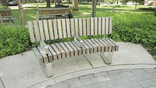 How 'defensive design' leads to rigid benches, metal ...
