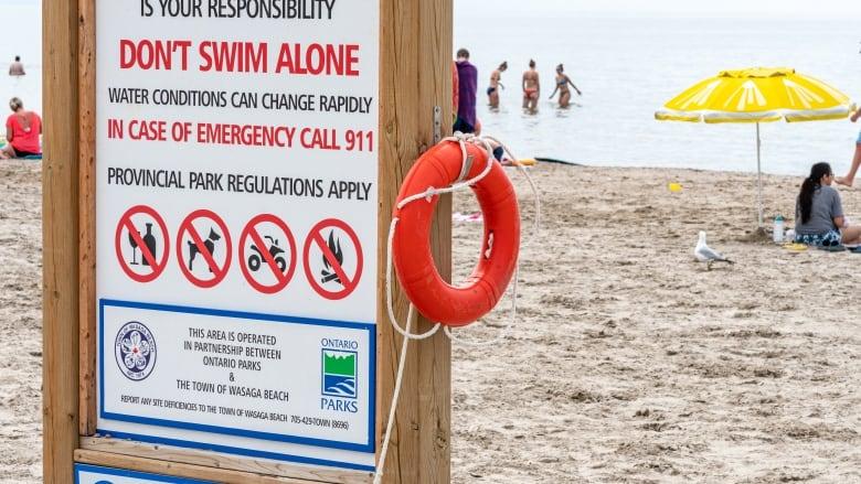 Police identify Brampton man who drowned at Wasaga Beach