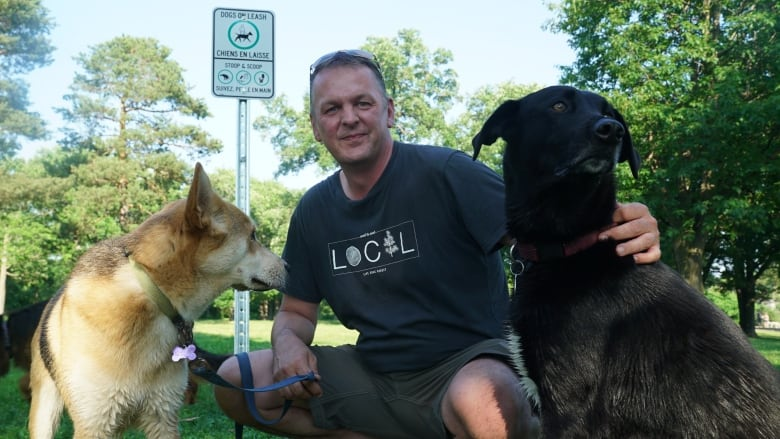 Dog owners dismayed by new signs at popular off-leash spot