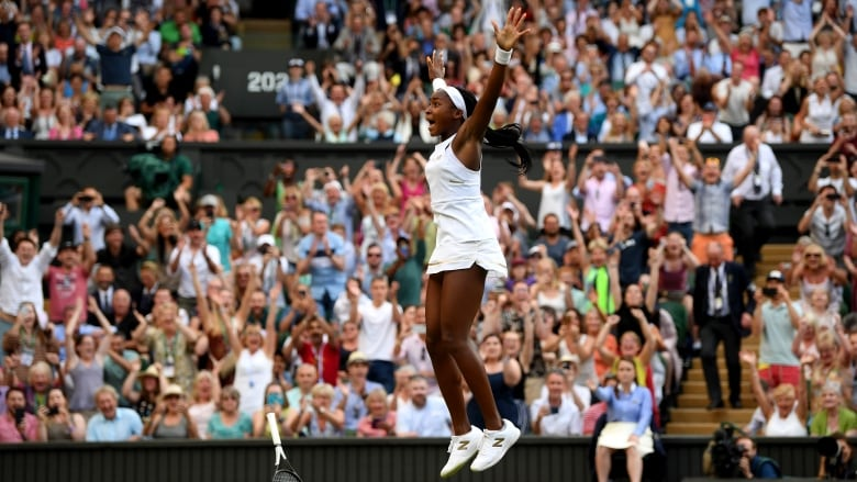 Unheralded Coco Gauff and Reilly Opelka advance at Wimbledon