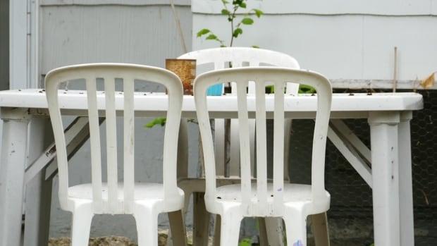 patio table.