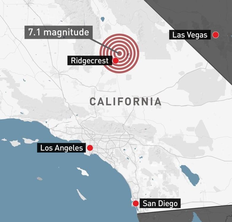 Map Of California Quake.Wake Up Call Back To Back Quakes Push Californians To Prepare For