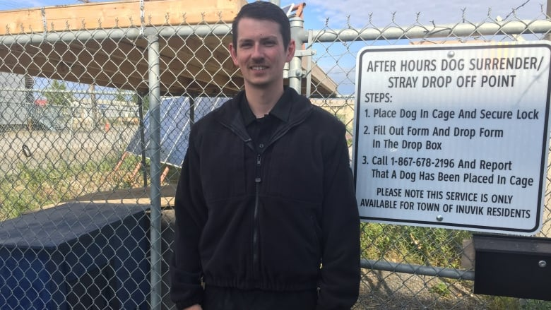 Drop-off point in Inuvik, N.W.T., helps with after-hours dog surrenders