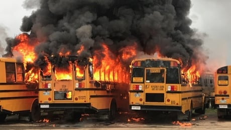St. Mary's Bus Fire