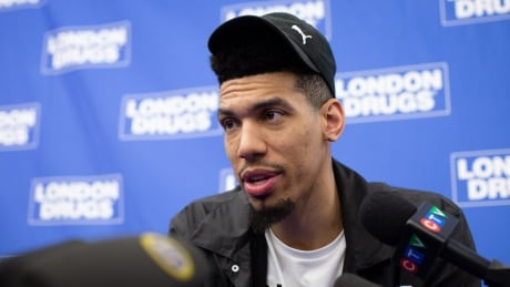 Danny Green in Vancouver