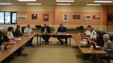City of Thunder Bay Emergency Operations Group meets
