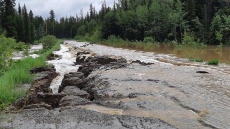 chilcotin river flooding big creek