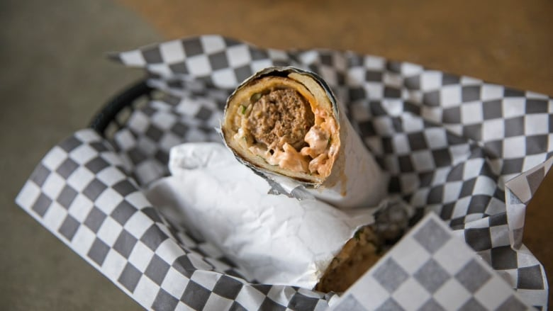 The kebab rolls 'are a standout' at this family-run shop in Ajax