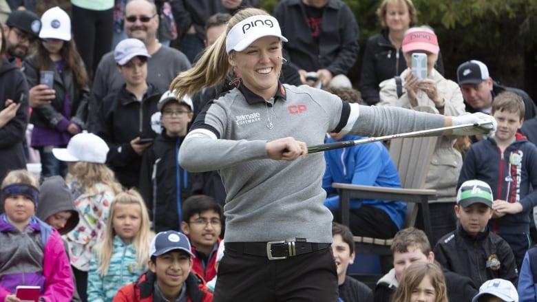 Canada's Brooke Henderson wins ESPY for best female golfer