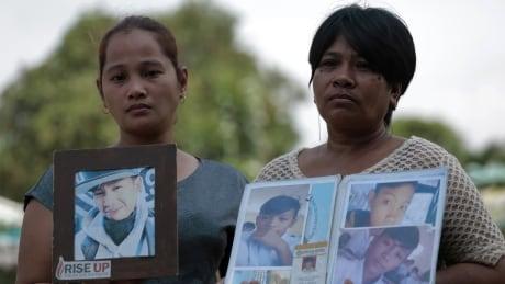 Philippines drug war mothers