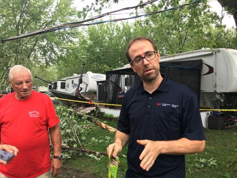 Residents survey wreckage after Quebec hit by violent storm