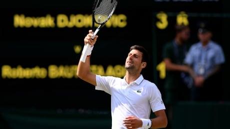 Novak Djokovic reaches 6th Wimbledon final