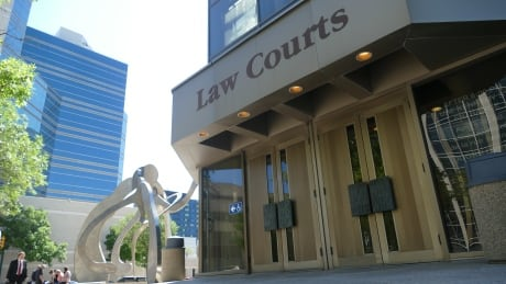 Winnipeg Law Court stock