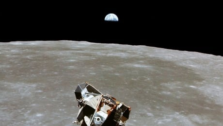 Apollo 11 LEM landing