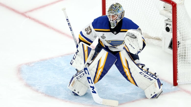 Blues secure Stanley Cup netminder, Binnington agrees to two-year deal