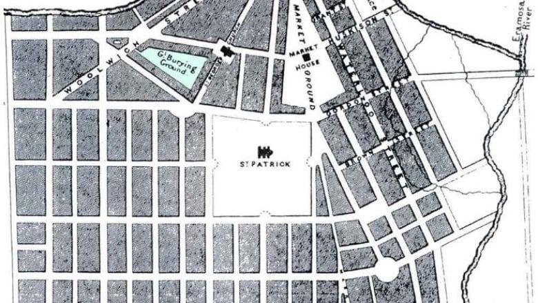 Archaeological dig at Guelph's Baker Street parking lot