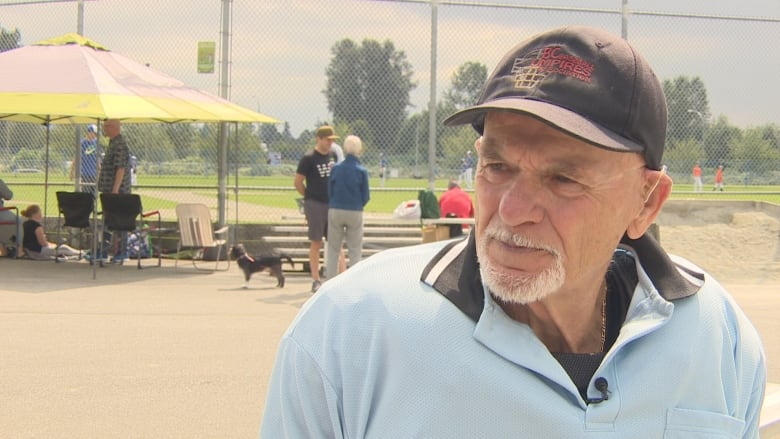 'I just love the game': B.C. umpire Larry Walker Sr. has been on the diamond for 70 years