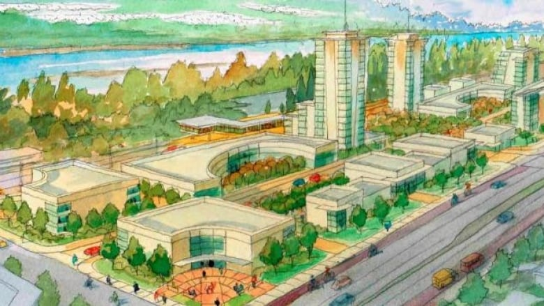 Port Moody's acting mayor wants more jobs — not more towers — around SkyTrain hub
