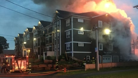 Charlottetown apartment fire