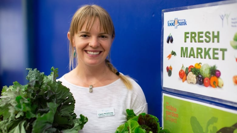 'Picked with TLC': Food bank users eating up fresh produce from volunteer gardens