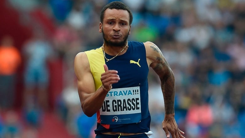 'We're not completely back:' Andre De Grasse has work to do to catch elite runners