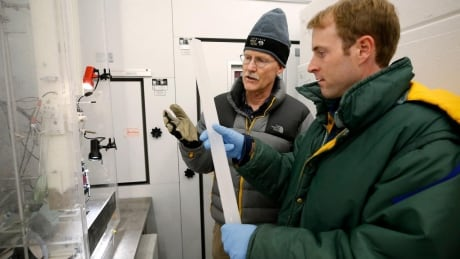 Ice core research