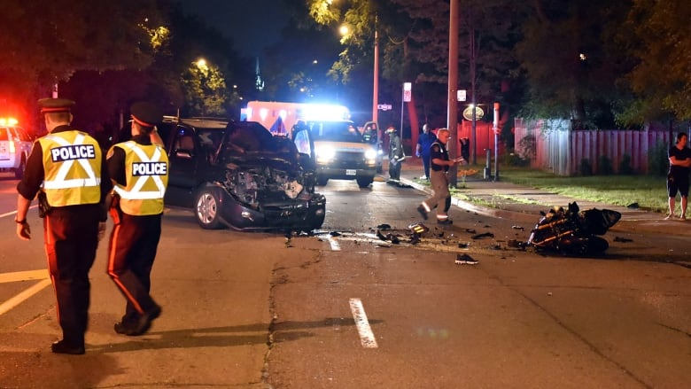 Motorcyclist, 26, killed in collision with minivan in the west end