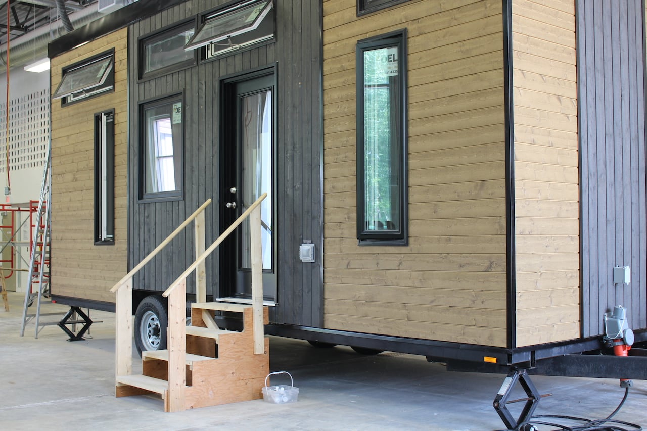 Tiny homes for homeless youth  CBC News