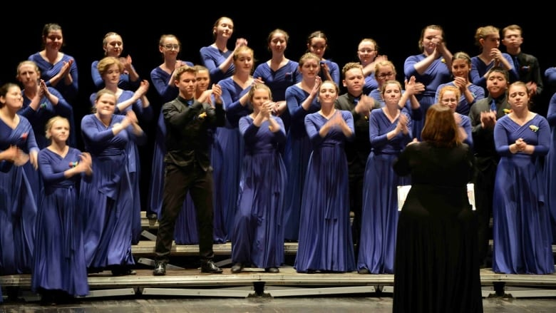 Shallaway Youth Choir nets gold, silver and bronze at world