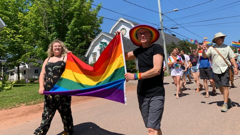 Small community shows big support for Pride   CBC News