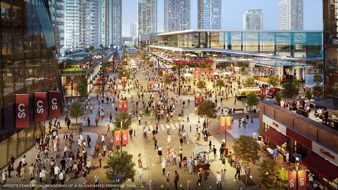 Design Team For Calgary S New 550m Downtown Arena To Be Announced In June Cbc News