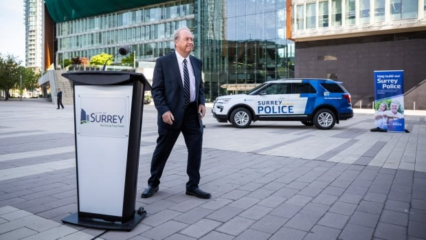 Surrey Police Board set to create city police force at 1st meeting | CBC News