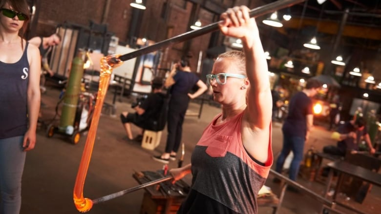 Competition heated for Edmonton glass-blower on Netflix series 'Blown Away'