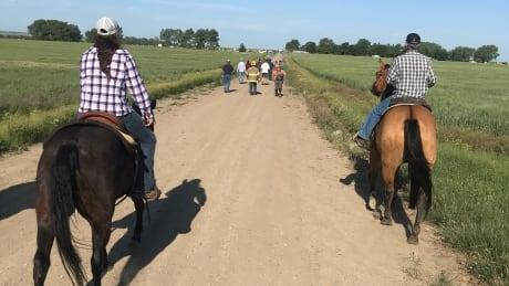 Horseback rescue of toddler in Sask.