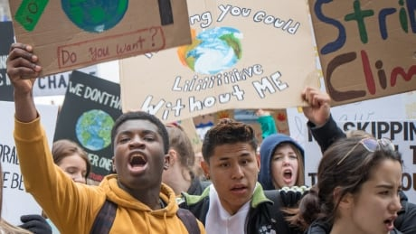 CLimate change halifax students protest