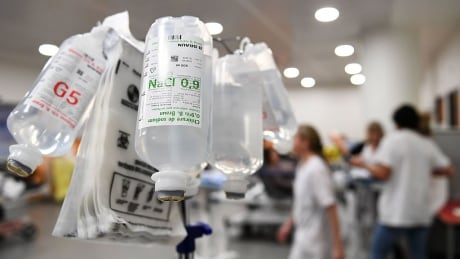 Intravenous bottles for therapy