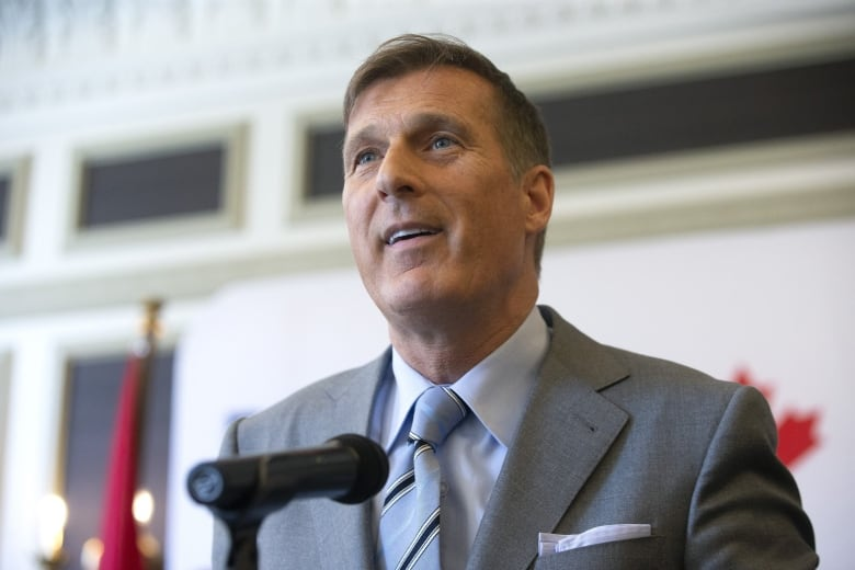Maxime Bernier excluded from initial invitations to leaders' election debates