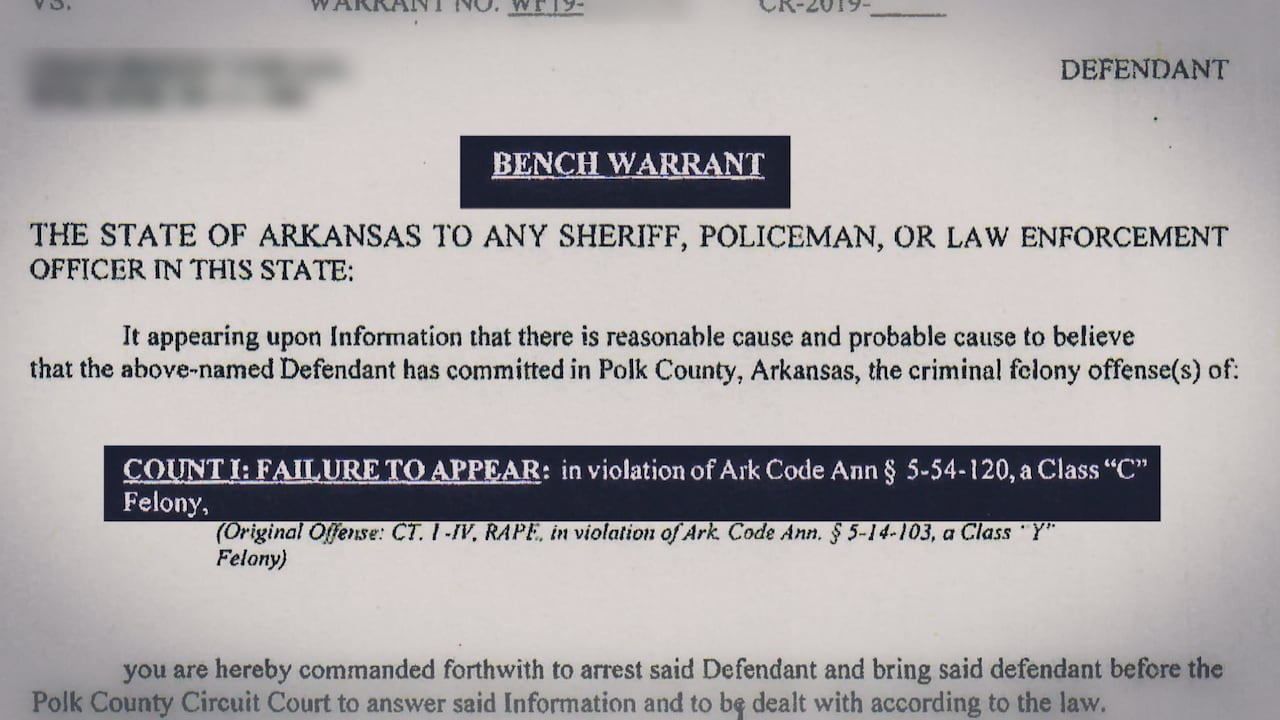 Bench Warrant Out Of State