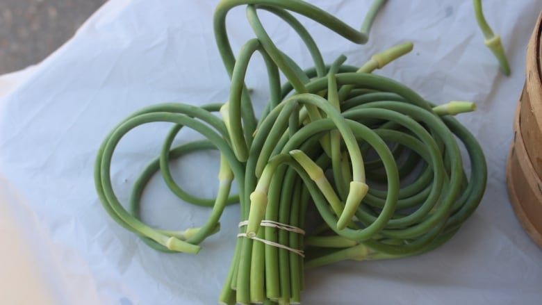 The scoop on garlic scapes and how to eat them | CBC News